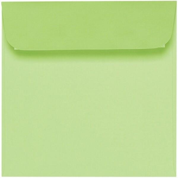 Artoz 1001 - 'Birchtree Green' Envelope. 160mm x 160mm 100gsm Square Peel/Seal Envelope.