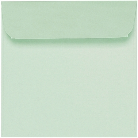 Artoz 1001 - 'Pale Mint' Envelope. 160mm x 160mm 100gsm Square Peel/Seal Envelope.