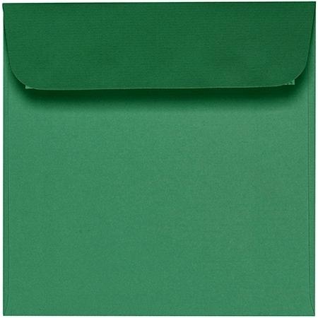 Artoz 1001 - 'Firtree Green' Envelope. 160mm x 160mm 100gsm Square Peel/Seal Envelope.
