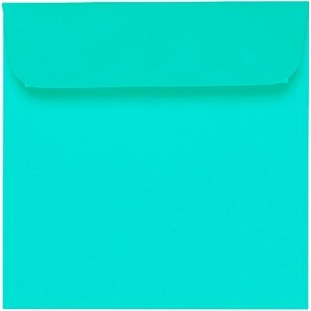 Artoz 1001 - 'Emerald Green' Envelope. 160mm x 160mm 100gsm Square Peel/Seal Envelope.