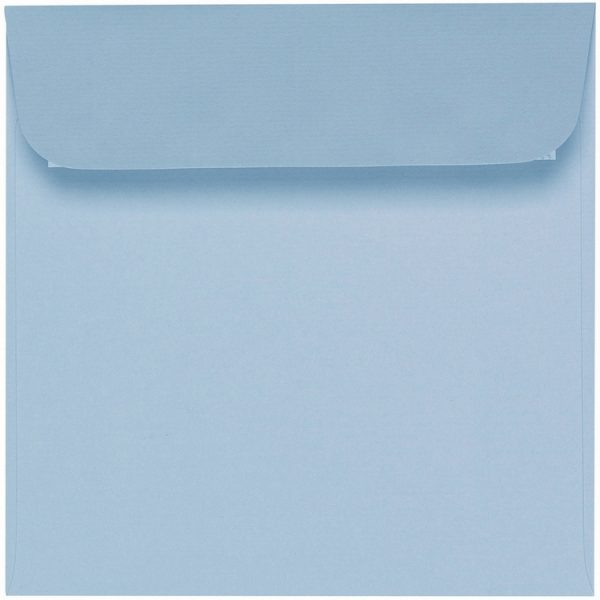 Artoz 1001 - 'Pastel Blue' Envelope. 160mm x 160mm 100gsm Square Peel/Seal Envelope.