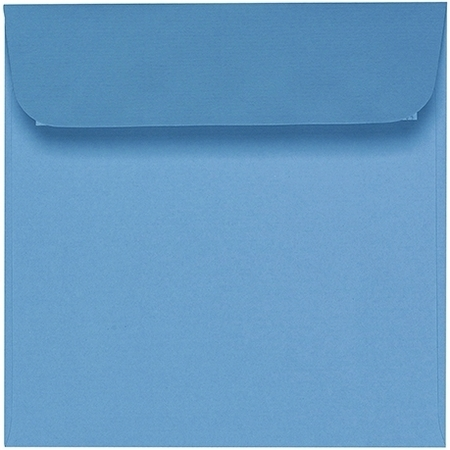 Artoz 1001 - 'Marine Blue' Envelope. 160mm x 160mm 100gsm Square Peel/Seal Envelope.