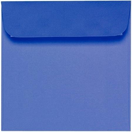 Artoz 1001 - 'Majestic Blue' Envelope. 160mm x 160mm 100gsm Square Peel/Seal Envelope.