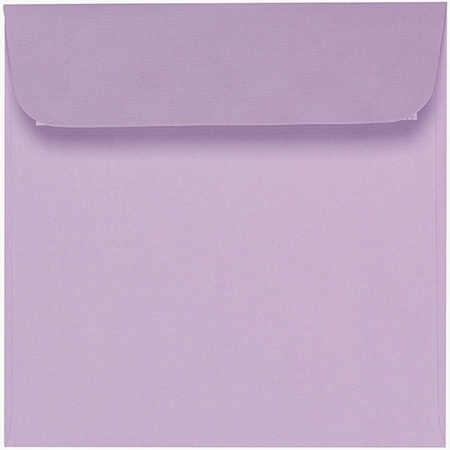 Artoz 1001 - 'Lilac' Envelope. 160mm x 160mm 100gsm Square Peel/Seal Envelope.
