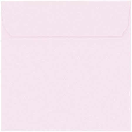 Artoz 1001 - 'Delicate Pink' Envelope. 160mm x 160mm 100gsm Square Peel/Seal Envelope.