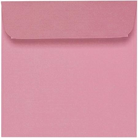 Artoz 1001 - 'Coral' Envelope. 160mm x 160mm 100gsm Square Peel/Seal Envelope.