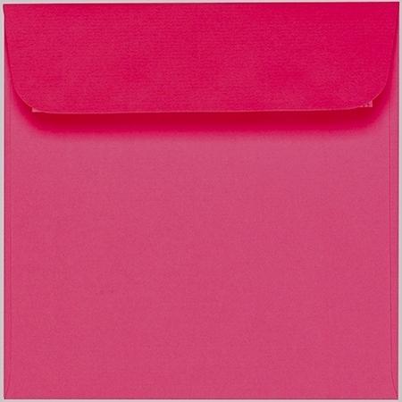 Artoz 1001 - 'Fuchsia' Envelope. 160mm x 160mm 100gsm Square Peel/Seal Envelope.