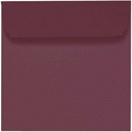 Artoz 1001 - 'Marsala' Envelope. 160mm x 160mm 100gsm Square Peel/Seal Envelope.