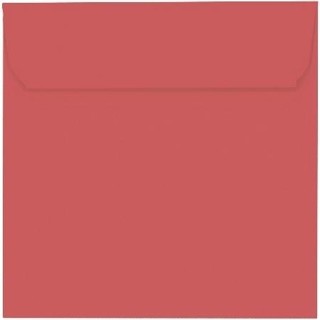 Artoz 1001 - 'Watermelon' Envelope. 160mm x 160mm 100gsm Square Peel/Seal Envelope.