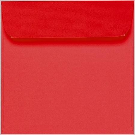 Artoz 1001 - 'Light Red' Envelope. 160mm x 160mm 100gsm Square Peel/Seal Envelope.