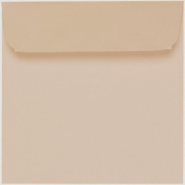 Artoz 1001 - 'Apricot' Envelope. 160mm x 160mm 100gsm Square Peel/Seal Envelope.