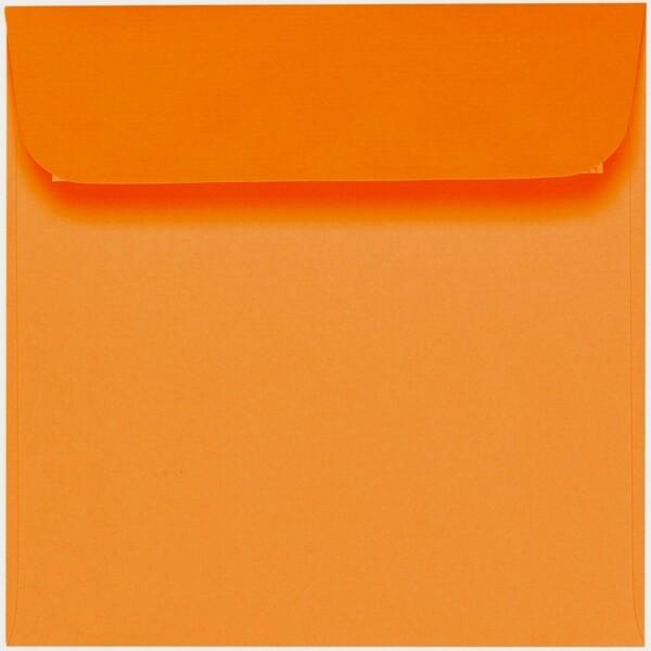 Artoz 1001 - 'Orange' Envelope. 160mm x 160mm 100gsm Square Peel/Seal Envelope.