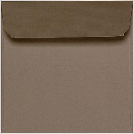 Artoz 1001 - 'Taupe' Envelope. 160mm x 160mm 100gsm Square Peel/Seal Envelope.