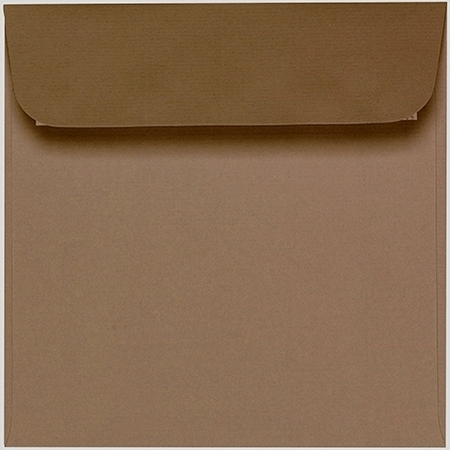 Artoz 1001 - 'Olive' Envelope. 160mm x 160mm 100gsm Square Peel/Seal Envelope.
