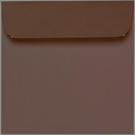 Artoz 1001 - 'Brown' Envelope. 160mm x 160mm 100gsm Square Peel/Seal Envelope.