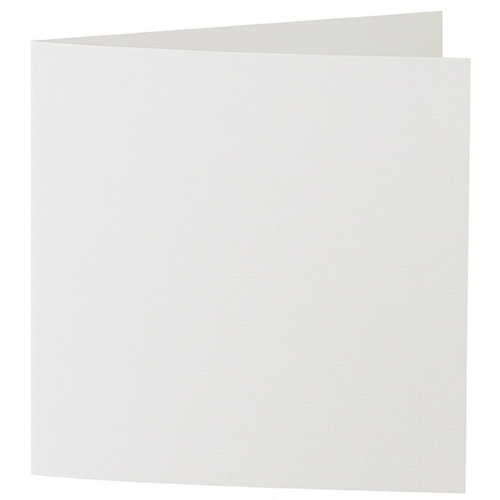 Artoz 1001 - 'Silver Grey' Card. 332mm x 166mm 220gsm Large Square Folded Card.