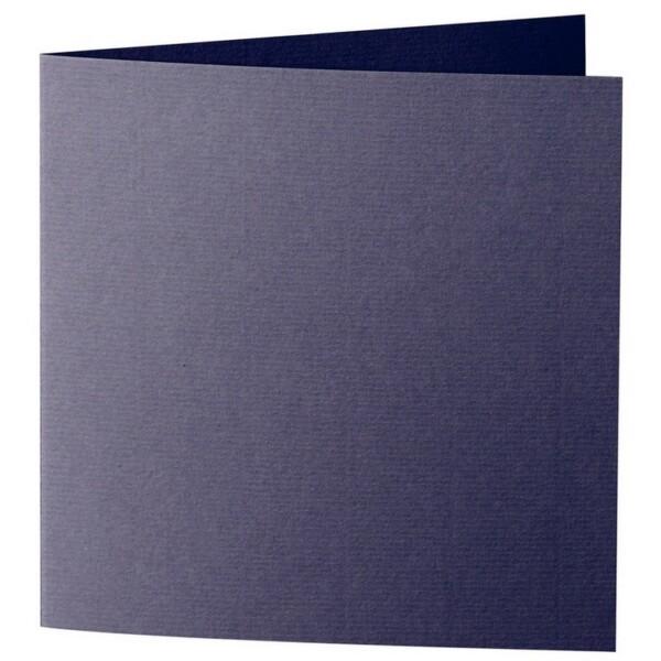 Artoz 1001 - 'Jet Black' Card. 332mm x 166mm 220gsm Large Square Folded Card.