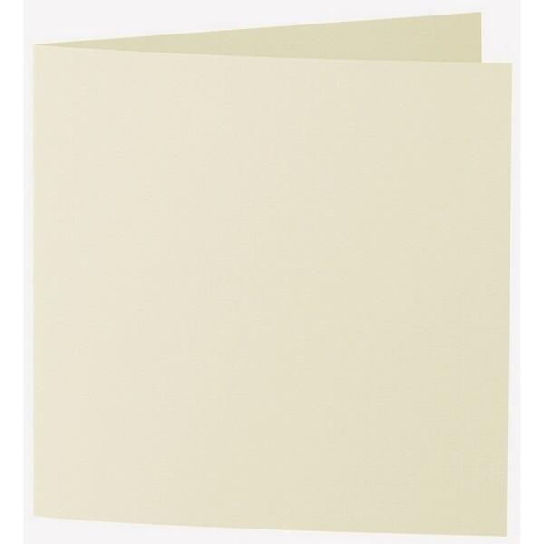 Artoz 1001 - 'Crema' Card. 332mm x 166mm 220gsm Large Square Folded Card.