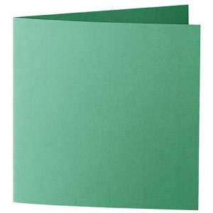 Artoz 1001 - 'Firtree Green' Card. 332mm x 166mm 220gsm Large Square Folded Card.