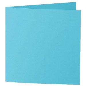 Artoz 1001 - 'Turquoise' Card. 332mm x 166mm 220gsm Large Square Folded Card.