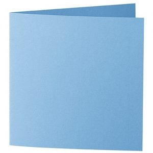 Artoz 1001 - 'Marine Blue' Card. 332mm x 166mm 220gsm Large Square Folded Card.