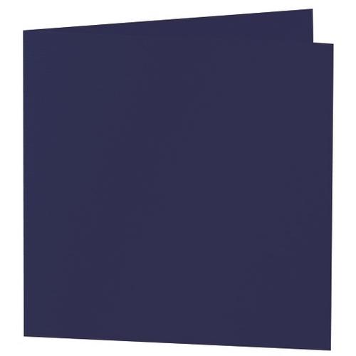Artoz 1001 - 'Navy Blue' Card. 332mm x 166mm 220gsm Large Square Folded Card.