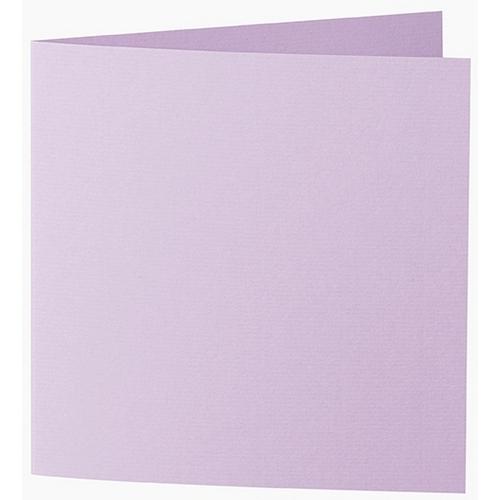 Artoz 1001 - 'Lilac' Card. 332mm x 166mm 220gsm Large Square Folded Card.