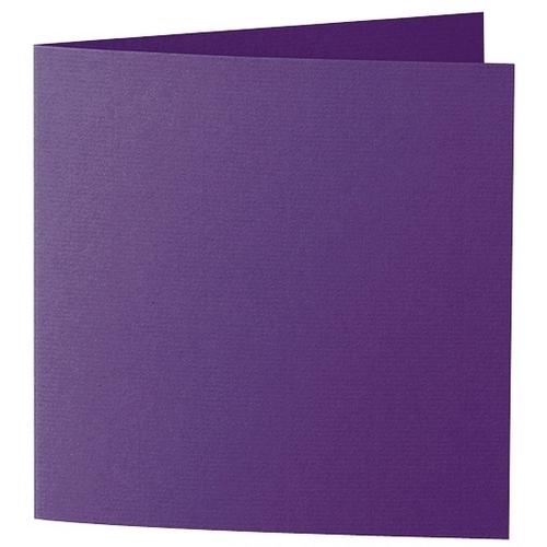 Artoz 1001 - 'Violet' Card. 332mm x 166mm 220gsm Large Square Folded Card.