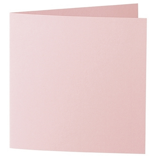 Artoz 1001 - 'Pink' Card. 332mm x 166mm 220gsm Large Square Folded Card.