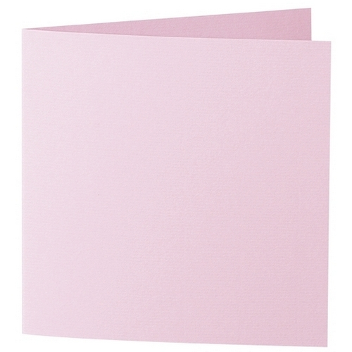 Artoz 1001 - 'Cherry Blossom' Card. 332mm x 166mm 220gsm Large Square Folded Card.