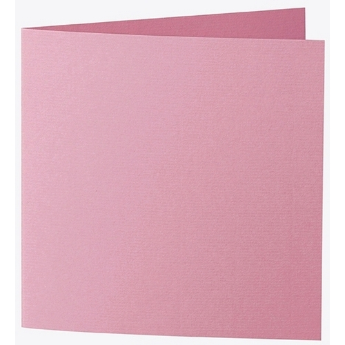 Artoz 1001 - 'Coral' Card. 332mm x 166mm 220gsm Large Square Folded Card.