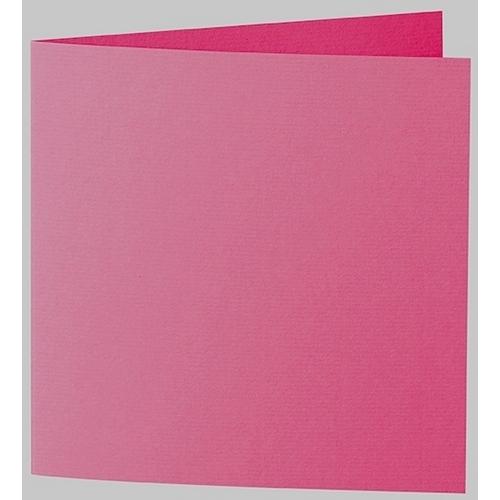 Artoz 1001 - 'Fuchsia' Card. 332mm x 166mm 220gsm Large Square Folded Card.
