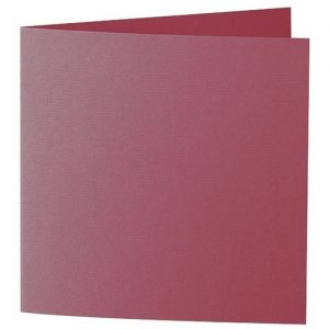 Artoz 1001 - 'Purple Red' Card. 332mm x 166mm 220gsm Large Square Folded Card.