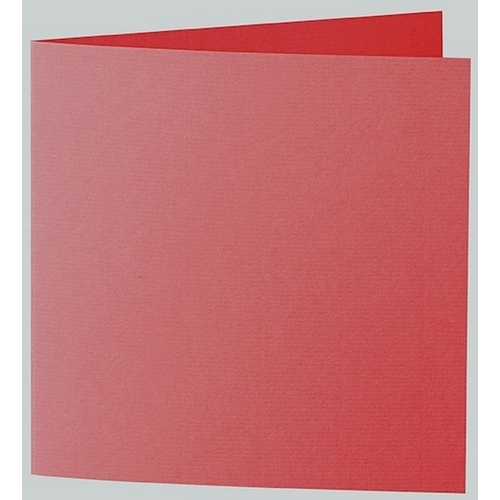 Artoz 1001 - 'Red' Card. 332mm x 166mm 220gsm Large Square Folded Card.
