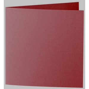 Artoz 1001 - 'Bordeaux' Card. 332mm x 166mm 220gsm Large Square Folded Card.