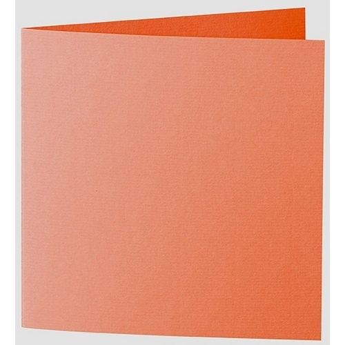 Artoz 1001 - 'Lobster Red' Card. 332mm x 166mm 220gsm Large Square Folded Card.