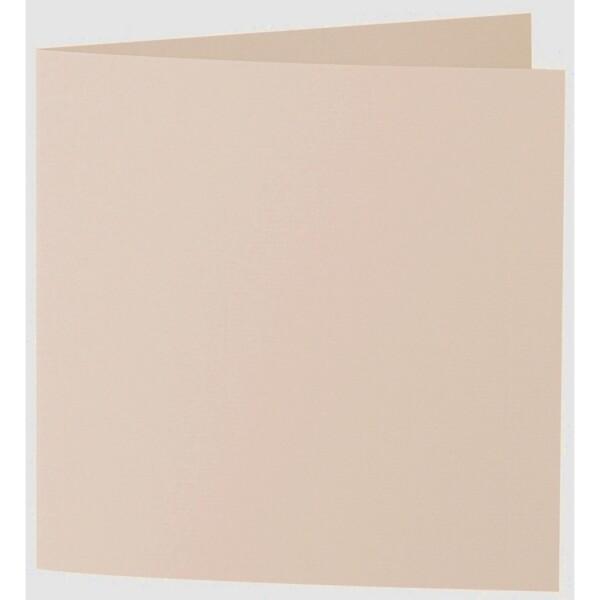 Artoz 1001 - 'Apricot' Card. 332mm x 166mm 220gsm Large Square Folded Card.