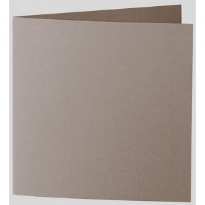 Artoz 1001 - 'Taupe' Card. 332mm x 166mm 220gsm Large Square Folded Card.