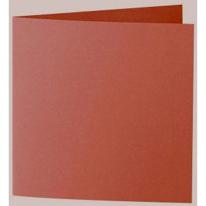 Artoz 1001 - 'Copper' Card. 332mm x 166mm 220gsm Large Square Folded Card.