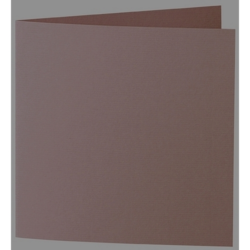 Artoz 1001 - 'Brown' Card. 332mm x 166mm 220gsm Large Square Folded Card.