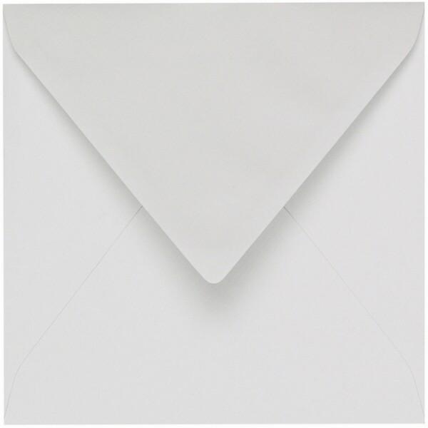 Artoz 1001 - 'Bianco White' Envelope. 175mm x 175mm 100gsm Large Square Gummed Envelope.
