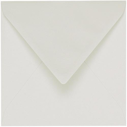 Artoz 1001 - 'Silver Grey' Envelope. 175mm x 175mm 100gsm Large Square Gummed Envelope.