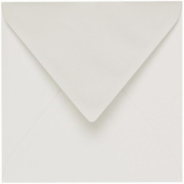 Artoz 1001 - 'Pale Ivory' Envelope. 175mm x 175mm 100gsm Large Square Gummed Envelope.