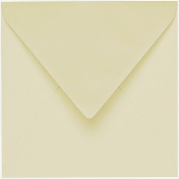 Artoz 1001 - 'Crema' Envelope. 175mm x 175mm 100gsm Large Square Gummed Envelope.