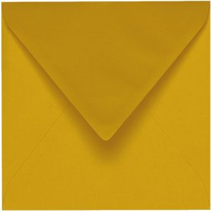 Artoz 1001 - 'Kiwi' Envelope. 175mm x 175mm 100gsm Large Square Gummed Envelope.