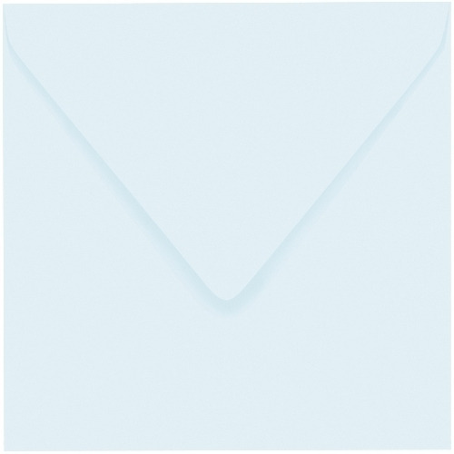 Artoz 1001 - 'Light Blue' Envelope. 175mm x 175mm 100gsm Large Square Gummed Envelope.
