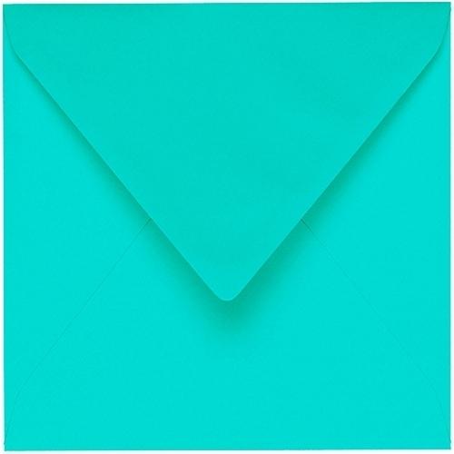 Artoz 1001 - 'Emerald Green' Envelope. 175mm x 175mm 100gsm Large Square Gummed Envelope.