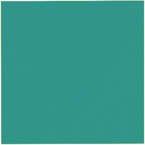 Artoz 1001 - 'Tropical Green' Envelope. 175mm x 175mm 100gsm Large Square Gummed Envelope.