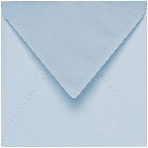 Artoz 1001 - 'Aqua' Envelope. 175mm x 175mm 100gsm Large Square Gummed Envelope.