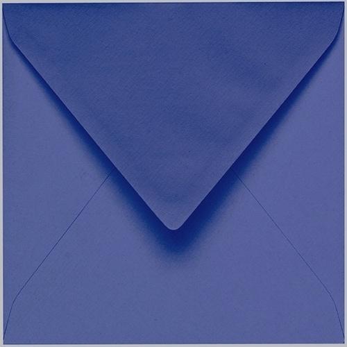 Artoz 1001 - 'Indigo' Envelope. 175mm x 175mm 100gsm Large Square Gummed Envelope.